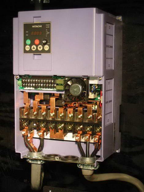 Using variable frequency drives for phase conversion for Vfd for three phase motor